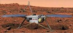 L'atterrisseur de Mars Surveyor 2001