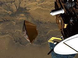 Largage de Beagle 2