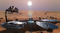 Beagle 2 � la surface de Mars