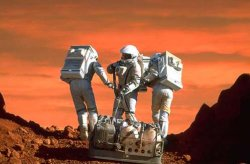 "Une scene du film ""Mission to Mars"""