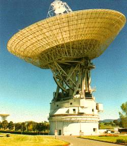 Une antenne du Deep Space Network