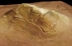 Le visage de Mars imagé par la sonde européenne Mars Express