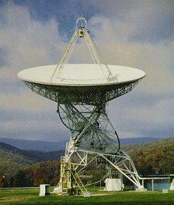 L'antenne du projet Ozma