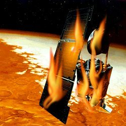 Image result for mars climate orbiter crash